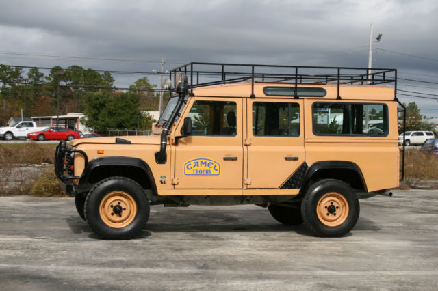 1987 land rover defender camel trophy replica with 300tdi turbo