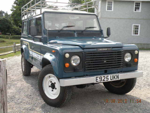 1987 Land Rover Defender V8 County 110 RHD
