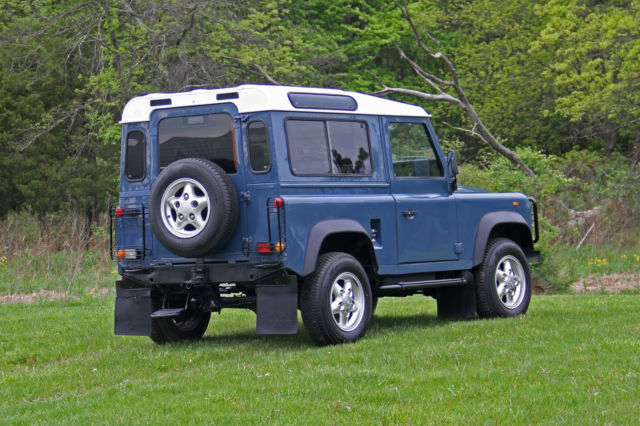 1987 Land Rover Defender D90 Turbo-Diesel