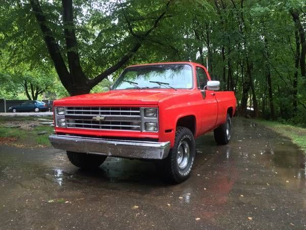 1987 lifted chevy truck restoration for sale photos. Black Bedroom Furniture Sets. Home Design Ideas