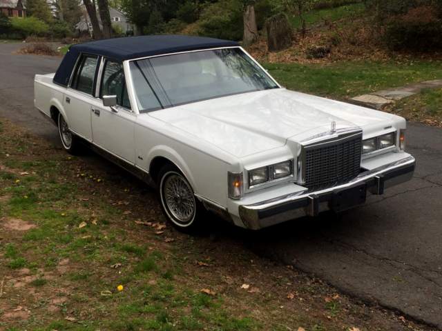 1987 Lincoln Town Car Continental Brougham Deville Grand Marquis