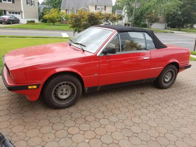 1987 Maserati biturbo i zagato spyder BARN FIND for sale ...