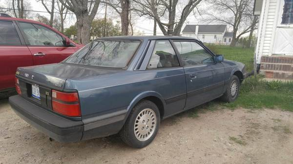 1987 mazda 626 coupe for sale: photos, technical specifications