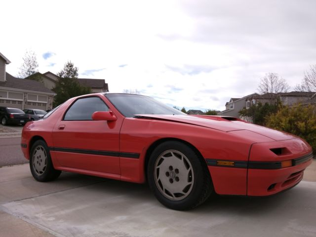 1987 Mazda Rx 7 Turbo Ii Tii Rx7 For Sale Photos Technical
