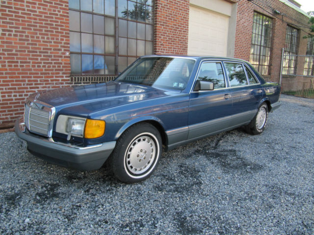1987 Mercedes-Benz 400-Series 420SEL