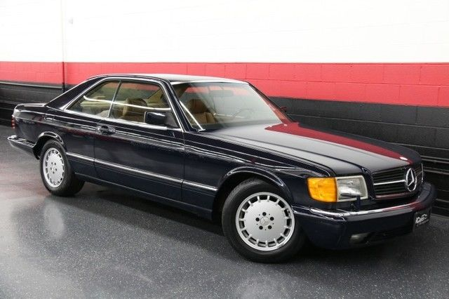 1987 Mercedes-Benz 500-Series 2dr Coupe