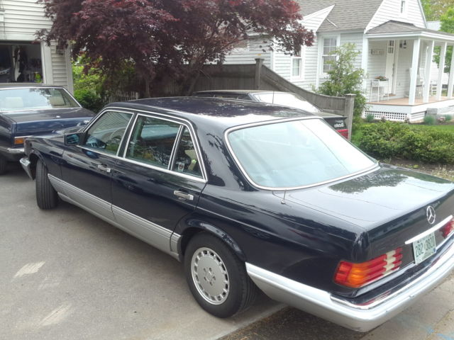 1987 Mercedes-Benz S-Class SEL (long Wheel Base)