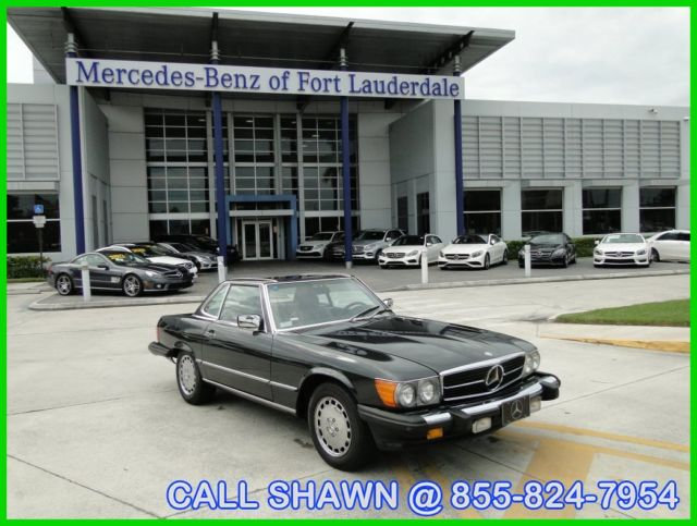1987 Mercedes-Benz 500-Series 1 OWNER CAR!!, JUST TRADED IN, MERCEDES-BENZ DLR!!