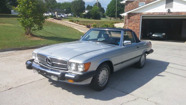 1987 mercedes benz 560sl convertible with hardtop nice for for Hardtop convertible mercedes benz