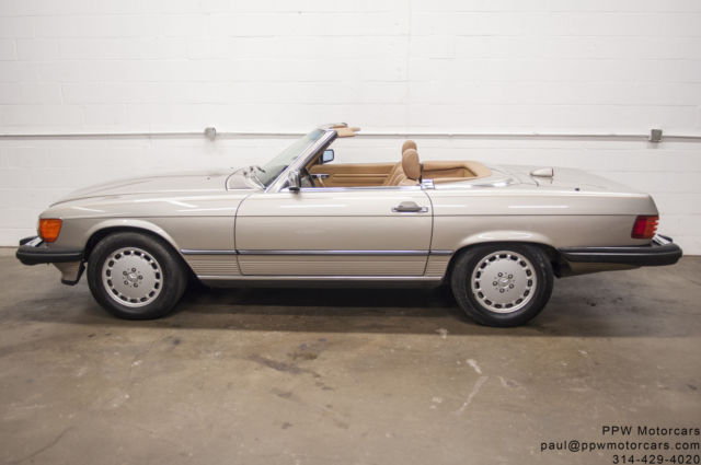 1987 Mercedes-Benz 500-Series 2dr Roadster