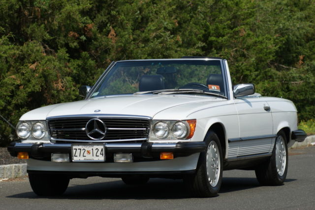 1987 Mercedes-Benz 500-Series