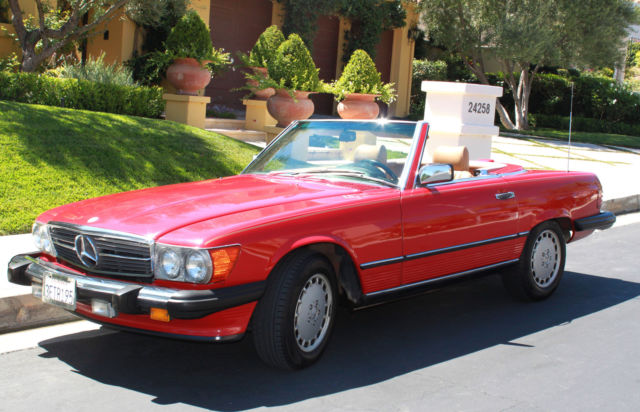 1987 Mercedes-Benz 500-Series 560 Series 2dr Coupe 560SL Roadster