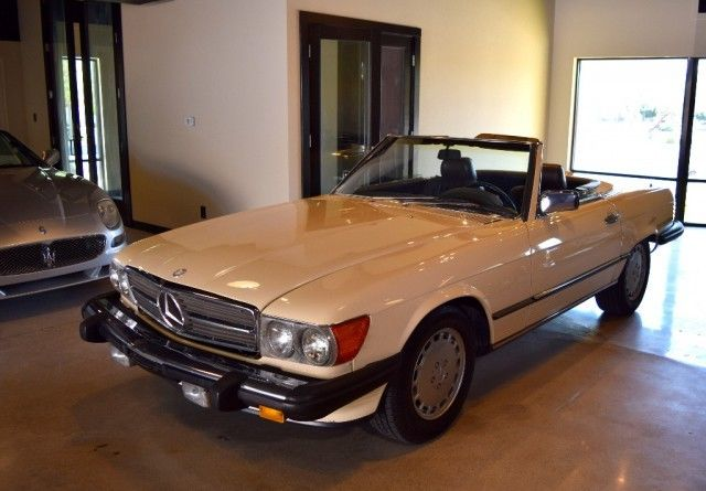 1987 Other Mercedes-Benz SL-Class CONVERTIBLE with Brown interior
