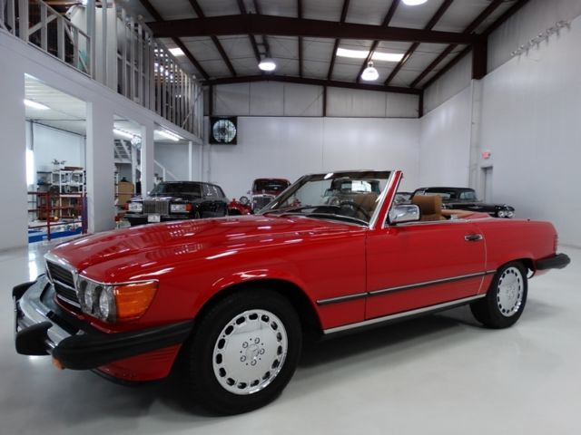 1987 Mercedes-Benz SL-Class 560SL ORIGINAL CALIFORNIA CAR! ONLY 39,245 MILES!