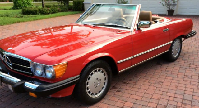1987 Mercedes-Benz 500-Series Base Convertible 2-Door