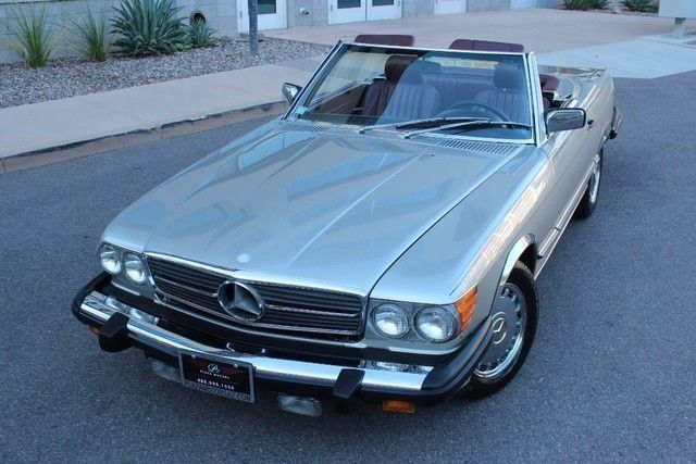 1987 Mercedes-Benz SL-Class Base Convertible 2-Door