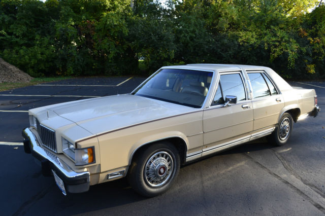 1987 Mercury Grand Marquis LS Sedan 4-Door