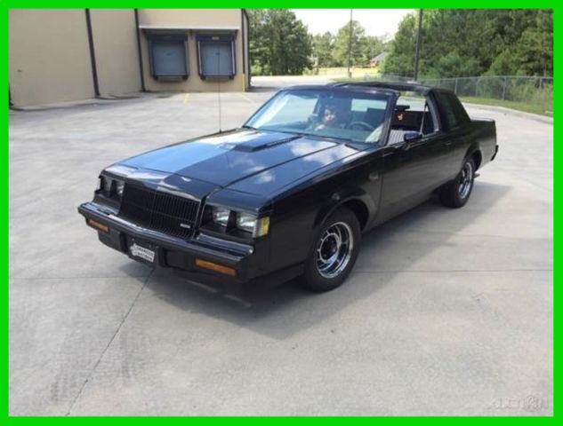 1987 Buick Regal MINT-LOW MILES-WITH T-TOPS