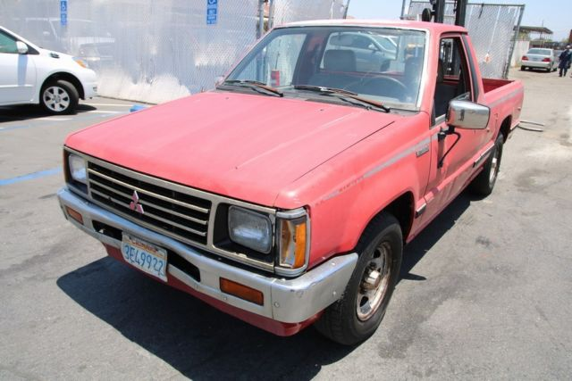 1987 Mitsubishi Mighty Max Sport Reg. Cab Short Bed 2WD