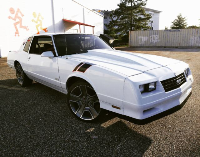 1987 Monte Carlo SS clean in and out for sale: photos