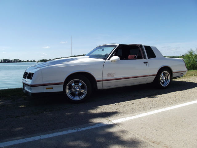 1987 monte carlo ss t tops 383 stroker for sale photos technical specifications description. Black Bedroom Furniture Sets. Home Design Ideas
