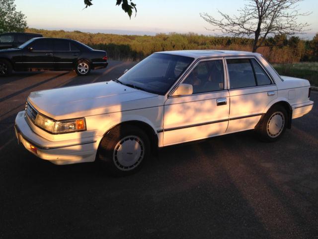 1987 Nissan Maxima SE Sedan 4Door 30L for sale photos