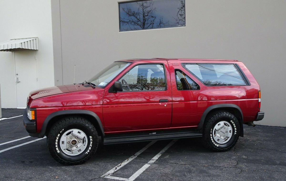 1987 Nissan Pathfinder Se V6 Hardbody 4x4 2 Door Suv Truck Red Rare Vintage 4x4 For Sale Photos Technical Specifications Description