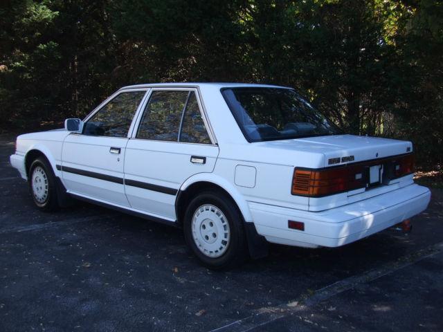1987 Nissan Stanza GXE Sedan 4-Door 2.0L for sale: photos ...
