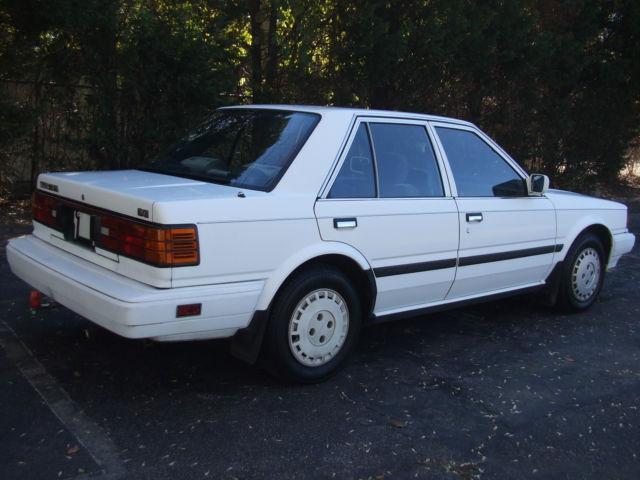 1987 Nissan Stanza Gxe Sedan 4 Door 2 0l For Sale Photos