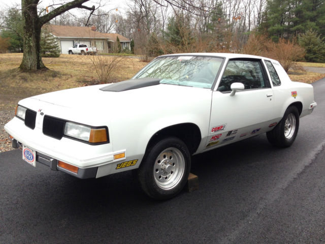 1987 Oldsmobile Cutlass HOT RAT ROD PROSTREET NHRA DRAG CAR