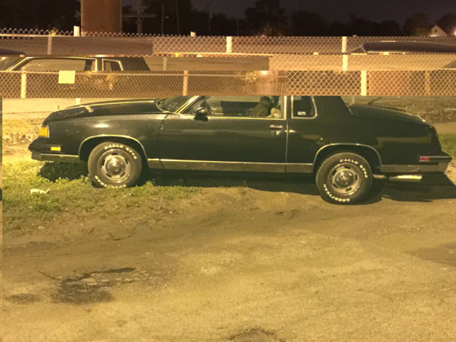 1987 Oldsmobile Cutlass 2 door