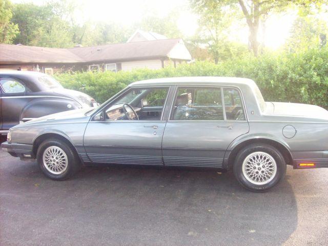 1987 Oldsmobile Touring Sedan In Good Shape