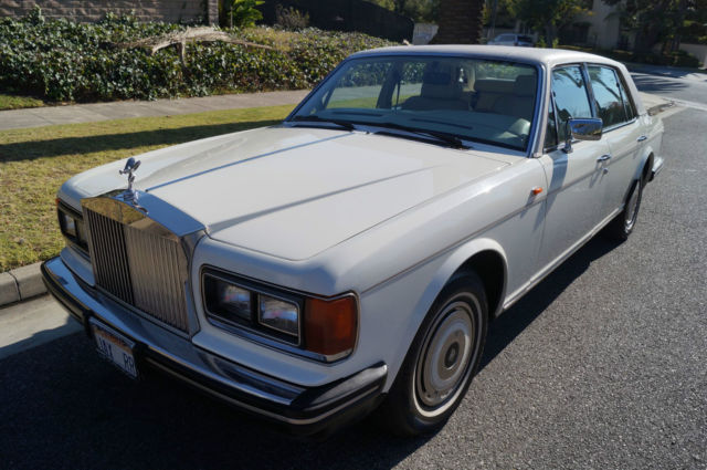 1987 Rolls-Royce Silver Spirit/Spur/Dawn SILVER SPUR WITH ONE CALIFORNIA OWNER