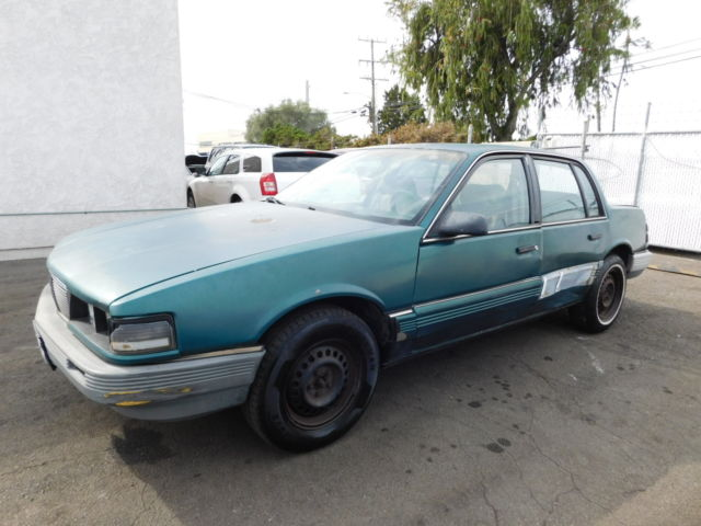 1987 Pontiac Grand Am 4dr Sedan LE