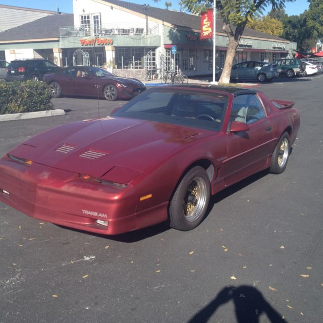 1987 Pontiac Trans Am none