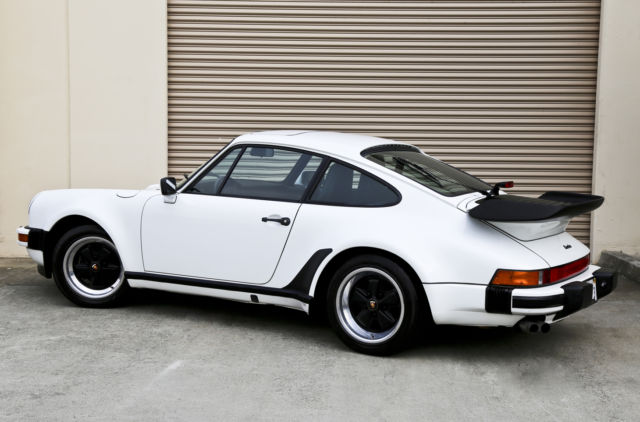 1987 Porsche 911 Carrera Turbo