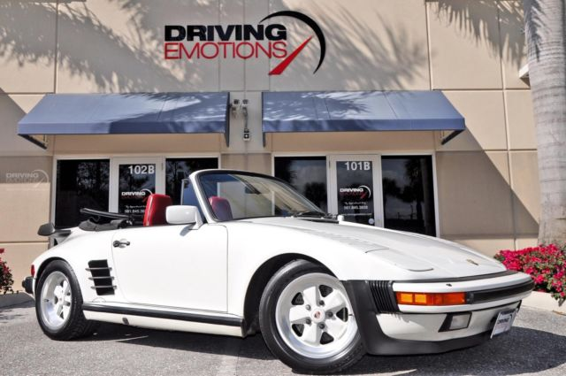 1987 Porsche 911 930 Turbo Cabriolet Slant Nose Carrera Turbo Slant Nose