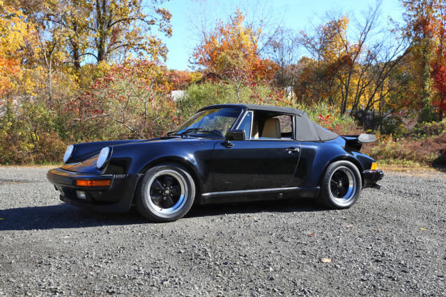 1987 Porsche 911 factory turbo look, M491
