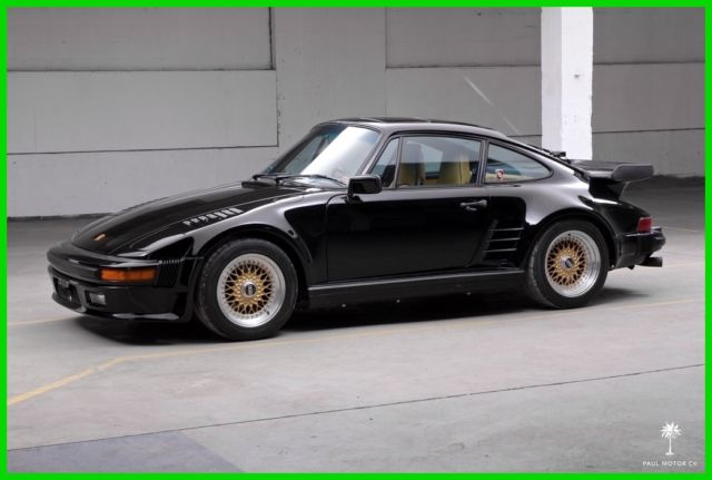 1987 Porsche 911 Turbo (930) - Slantnose Conversion/BBS Wheels