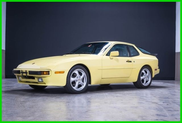 1987 Porsche 944 Low Miles Very Original