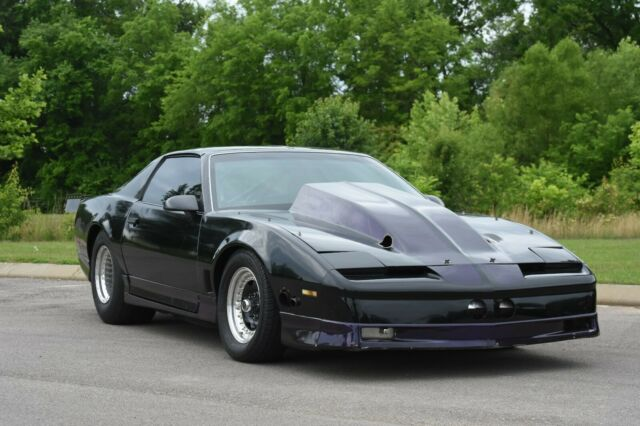 1987 pro street Twin turbo trans am 5 3L LS Holley EFI for