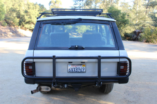 1987 range rover classic 90k miles fully serviced rare accessories a vehicle for sale photos. Black Bedroom Furniture Sets. Home Design Ideas