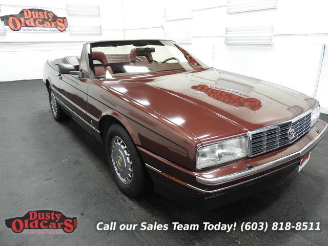 1987 Cadillac Allante Runs Drives Body Inter VGood 4.1LV8 4spd auto