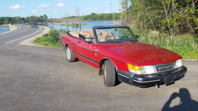 1987 Saab 900 Converible -16 valve Turbo Charged