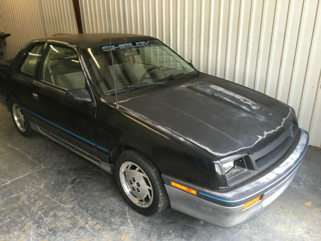 1987 Dodge Shadow Shelby CSX