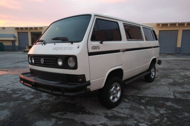 1987 Syncro Vanagon with Country Homes Camper interior and