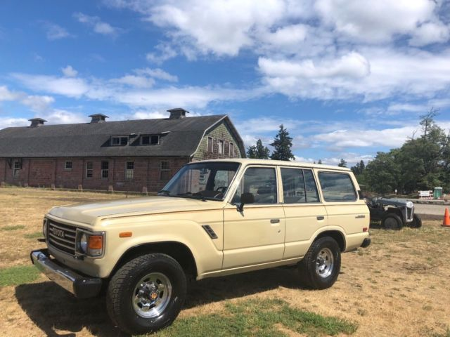 1987 Toyota Land Cruiser FJ60 Land-Cruiser