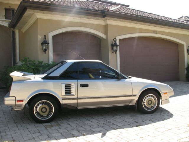 1987 toyota mr2 one owner only 51k miles 4 cyl 5 speed ac very good cond for sale. Black Bedroom Furniture Sets. Home Design Ideas