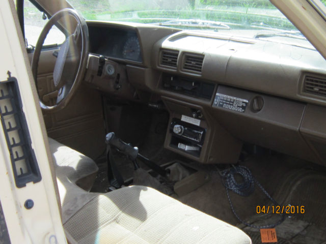 1987 Toyota Pickup Sr5 Extended Cab Pickup 2 Door 2 4l For Sale Photos Technical