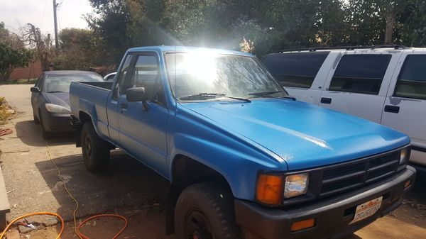 1987 Toyota SR5 5 Speed Manual SR5 Cab & Chassis 2-Door